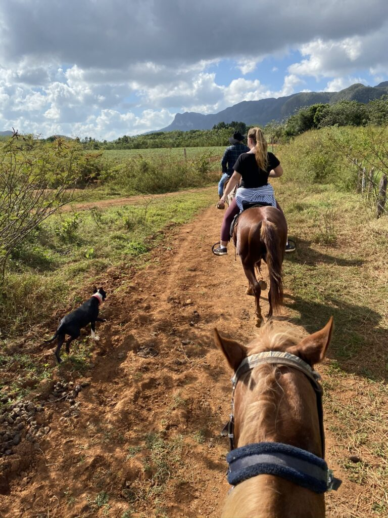 horse riding Viñales