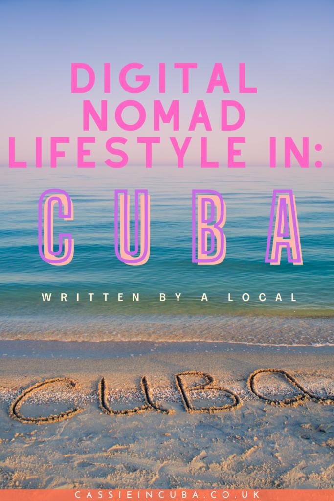 digital nomad cuba